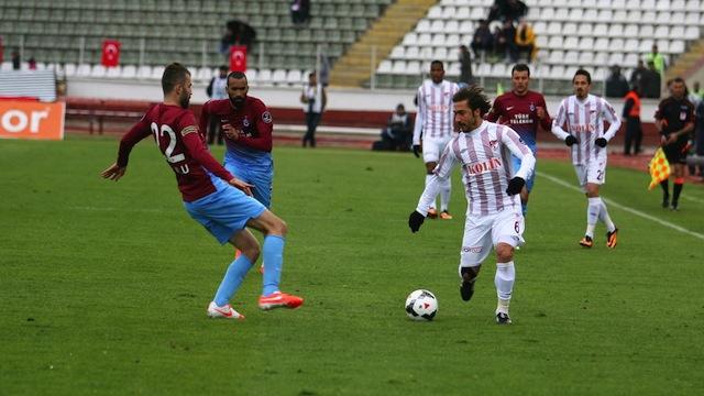 Trabzon deplasmanda kayıp