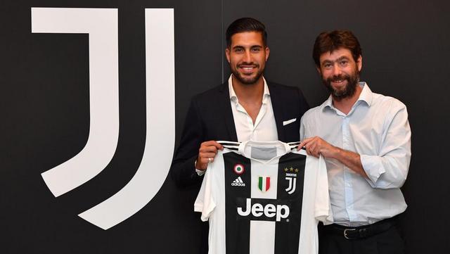 Emre Can'ın yeni takımı Juventus