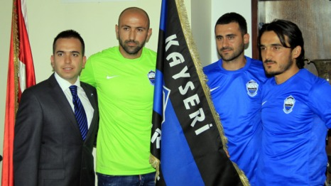 Erciyesspor'da ifte mza