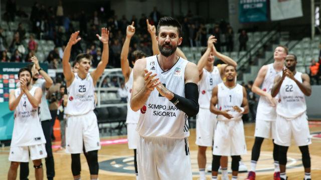 Beşiktaş Sompo Japan evinde güldü