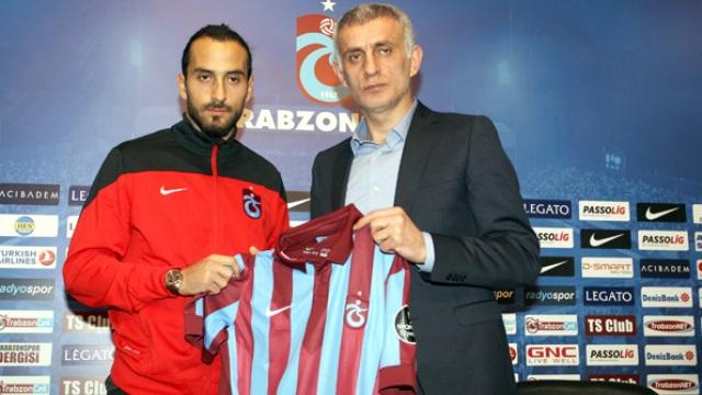 Ve Erkan Zengin resmen Trabzonspor'da