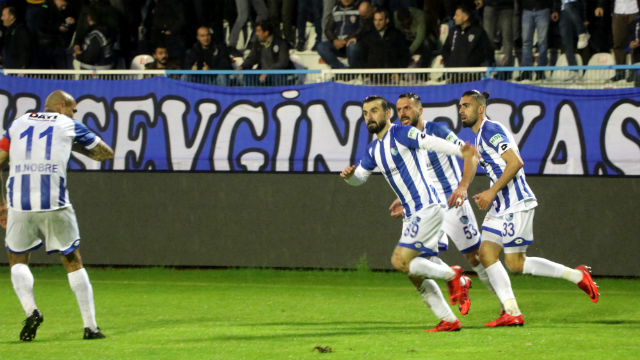 Play-off'ta gol düellosu 'VAR'