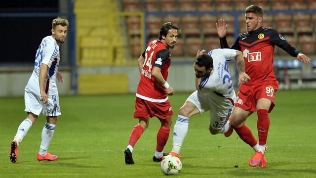 Karabük'te tam dört gol!