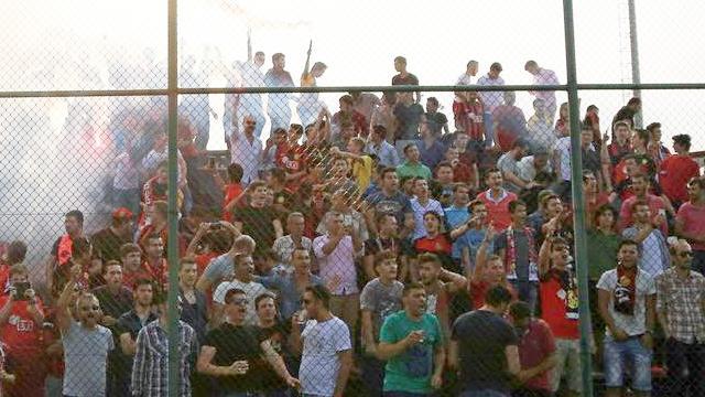 Eskişehirspor'a taraftar desteği