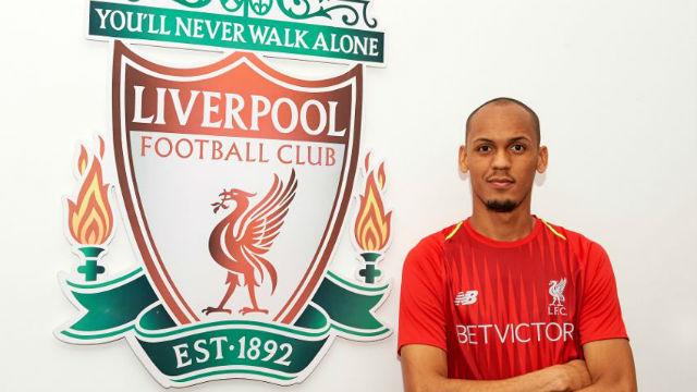 Liverpool Fabinho'yu kadrosuna kattı
