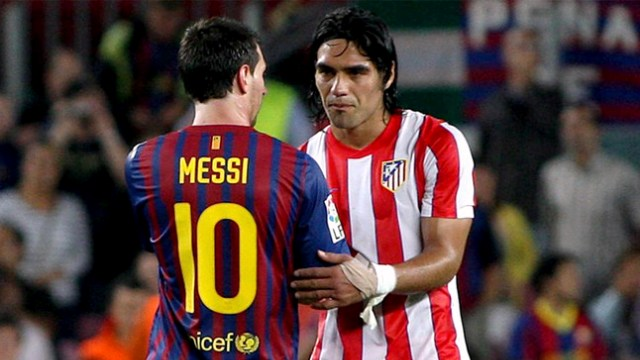 Falcao: Messi ve Ronaldo...