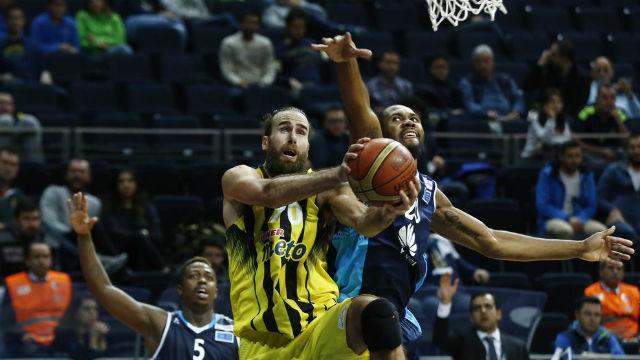 Fenerbahçe zorlansa da kazandı