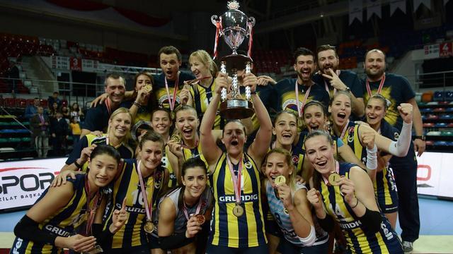 Fenerbahçe 3. kez şampiyon