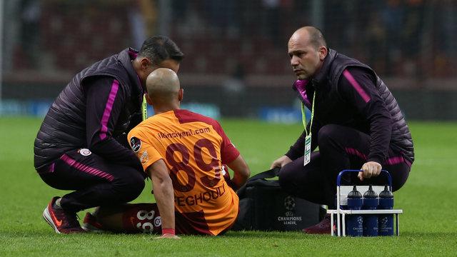 Galatasaray'da sakatlık krizi