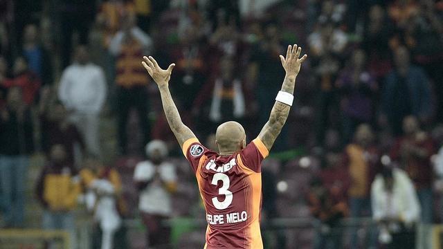 Galatasaray'da Melo sevinci