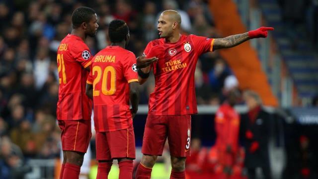 Galatasaray yıldızlarına kavuştu