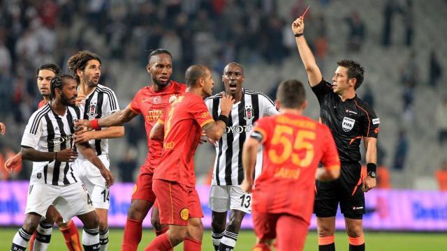 Galatasaray'ın maçı Aydınus'un