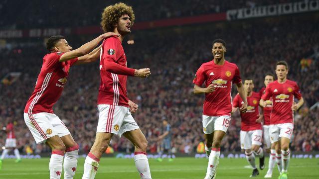 United düşe kalka finale