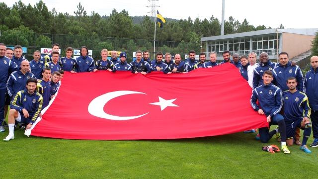 Fenerbahçe 6 eksikle çalıştı