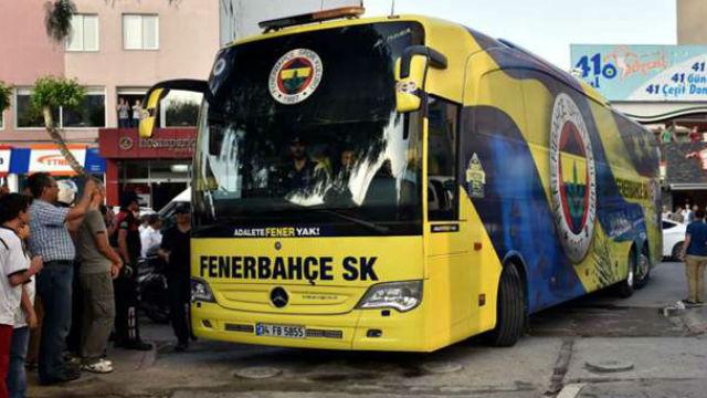 Fenerbahçe otobüsünde bomba araması