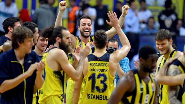 Basketbolda THY Avrupa Ligi  Fenerbahçe Finalde