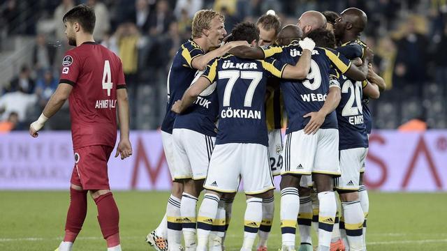 Fenerbahçe'yi Kuyt kurtardı!