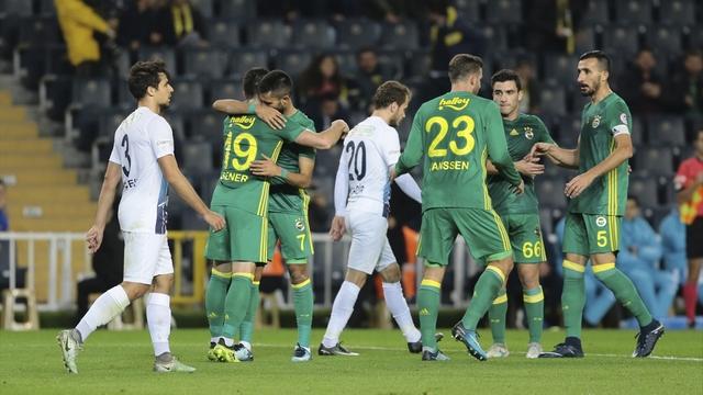 Fenerbahçe gol olup yağdı