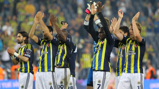 te Fenerbahe Kafilesi