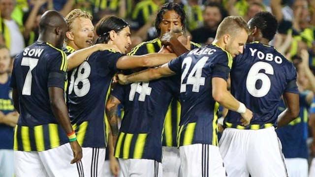 Fenerbahçe sildi süpürdü