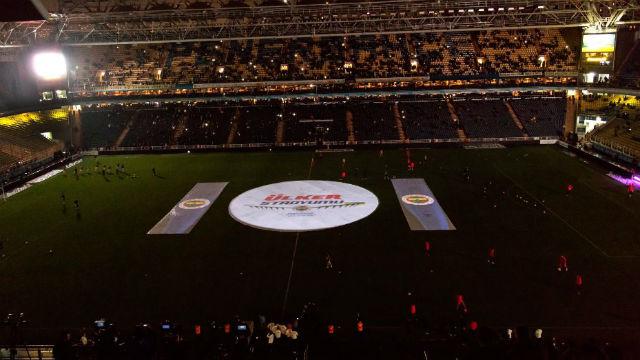 Fenerbahçe stadının yeni logosunu tanıttı