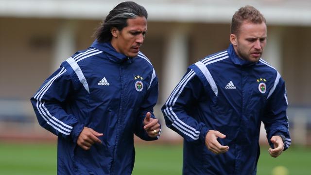 Alves bu kez antrenmanda