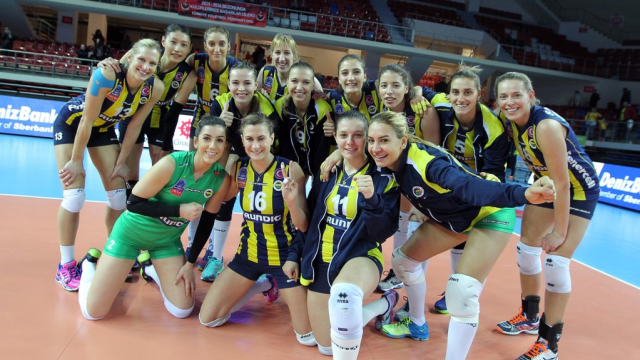 Fenerbahçe üçüncü oldu