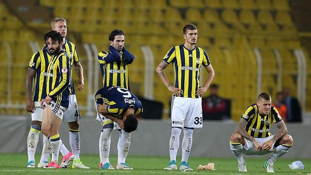 Fenerbahçe'nin hasreti 3 sezona çıktı