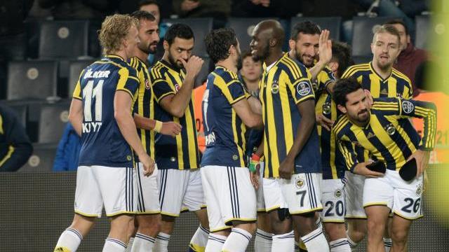 İşte Fenerbahçe'nin kadrosu!