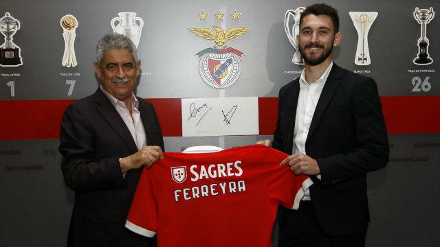 Benfica, Ferreyra'yı kadrosuna kattı