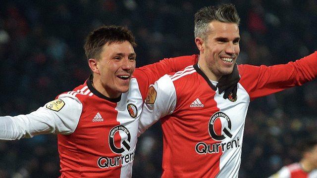 Feyenoord Van Persie ile güzel