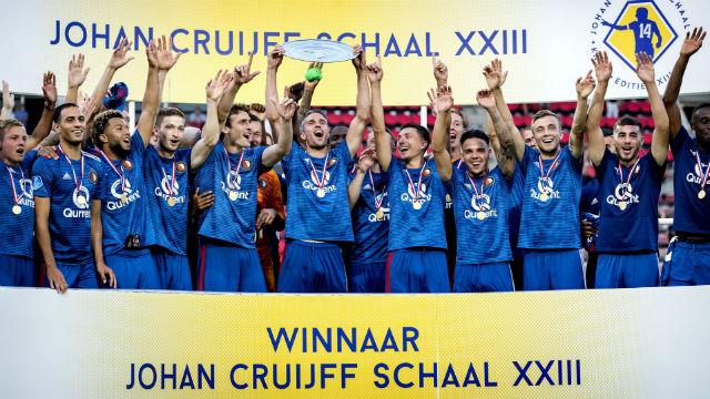 Hollanda Süper Kupası Feyenoord'un!