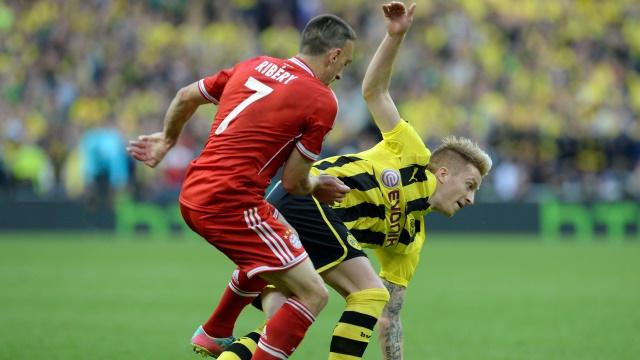 Ribery'den Reus'a: Dur bakalım!