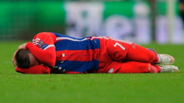 Ribery: Acı verici