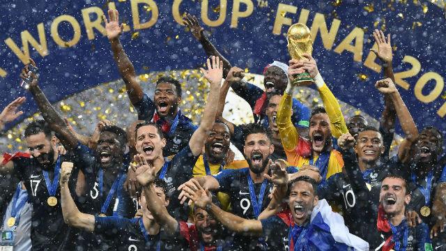 Fransa'da şampiyonluk coşkusu
