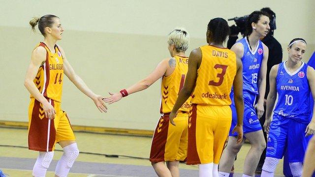 Galatasaray EuroCup'ta finalde!