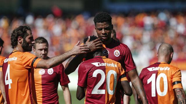 Galatasaray'dan 'farklı' prova