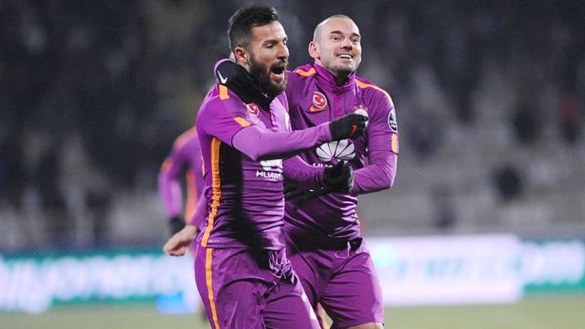 Galatasaray ikinci yarıda açıldı