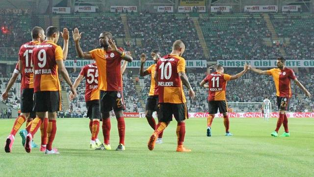Galatasaray siftahı yaptı!