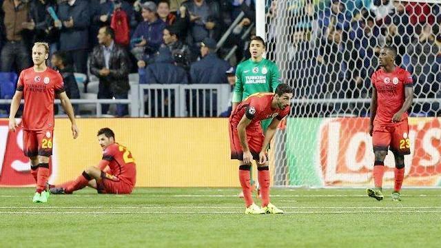 Galatasaray Astana'da kazanamadı!