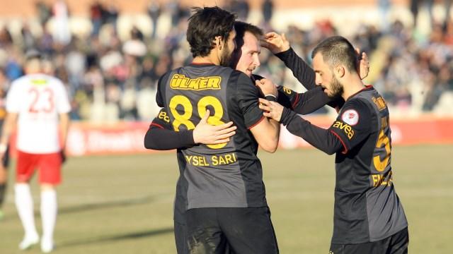 Galatasaray yenilerin golleriyle