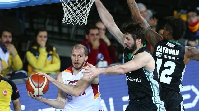 Galatasaray çeyrek finalde Daçka'yı devirdi