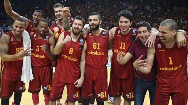 Galatasaray kupa için parkede