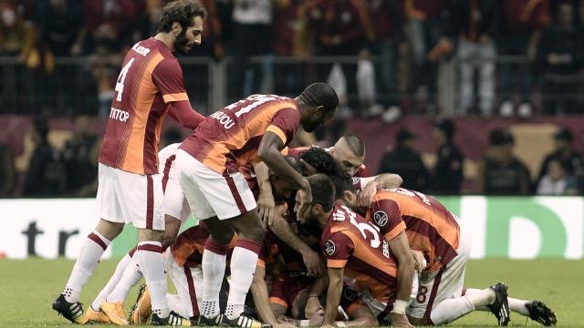 Galatasaray dünya devlerinin arasında