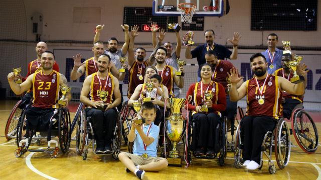 Galatasaray'dan tekerlekli sandalye basketbolu açıklaması