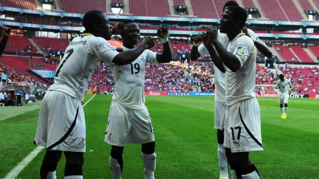 Üçüncülük maçı Gana'nın