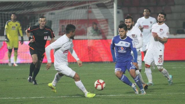 Gaziantep'ten gol sesi çıkmadı