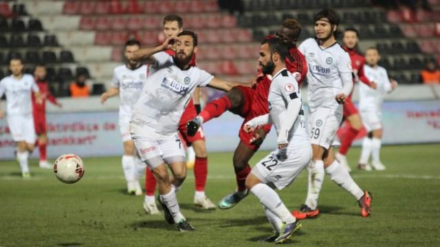 Gaziantepspor ilk galibiyetini aldı