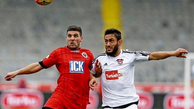 Gaziantepspor 9 kişiyle geri döndü!