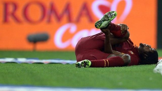 Roma golcüsünü kaybetti!